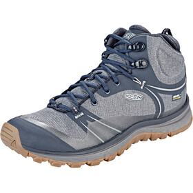 Keen Terradora WP Zapatillas Mid Mujer, blue nights/blue mirage